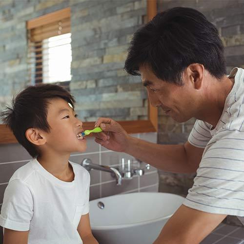 tricky plaque spots in kids teeth